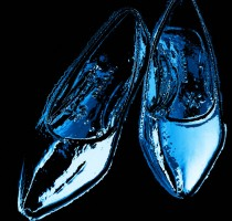 shoes of glass