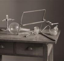 """「バルテュス絵画の考察」シリーズより """"A study of the still lifes 5 (medical apparatuses)"""" 2011"""