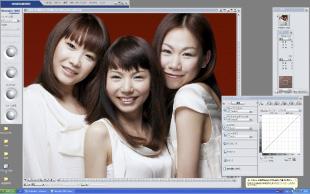 色調整前の画像